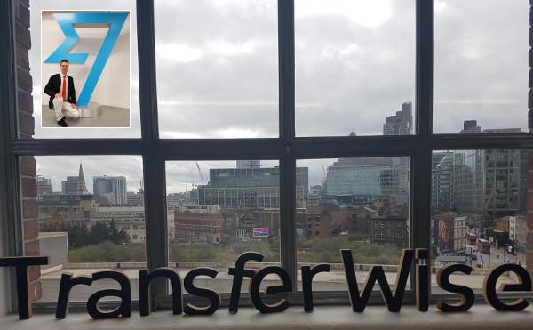 Der Autor sammelt bei TransferWise Erfahrungen.