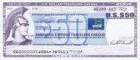 American Express Traveler's Cheque (Reisescheck)