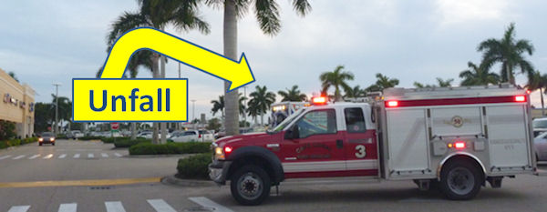 Unfall Cape Coral