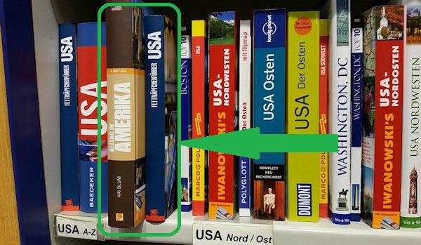USA Bücher im Buchhandel inklusive Kai Blums