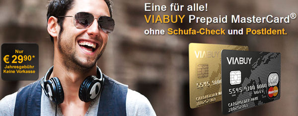 Viabuy Gold and Black Card