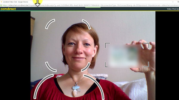 VideoIdent Comdirect