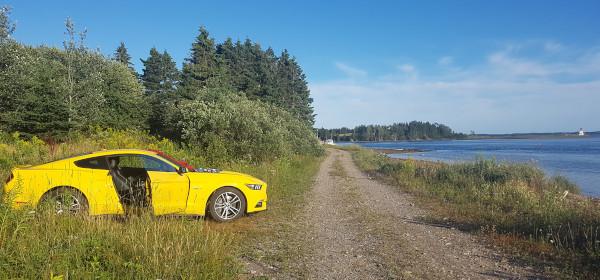 Cape Breton baden und Mustang GT