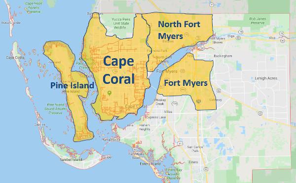 Investment-Paket: Grundstücke in Florida