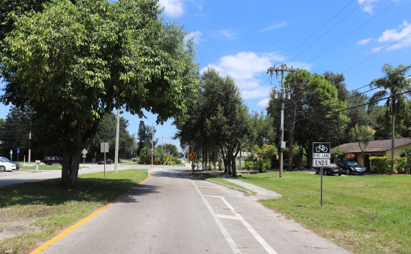 Kreisverkehr Cape Coral in der 24. Avenue