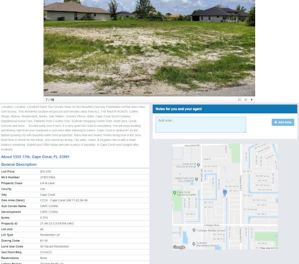 Suchauftrag Immobilien Florida