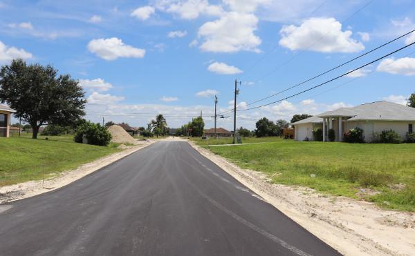 Grundstück in Florida mit neuem Straßen- und Wasseranschluss