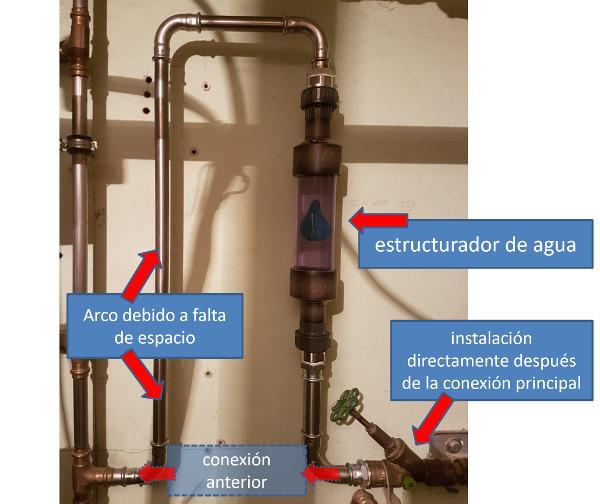 Wasserstrukturierer eingebaut