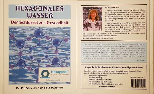 """Vor- und Rückseite des Buches """"Hexagonales Wasser"""""""