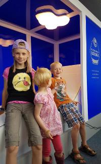 Kinder in der Recreation Lounge
