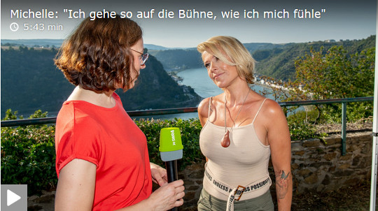 Michelle Stein der Harmonie im Interview