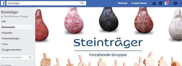Stein der Harmonie Facebook-Gruppe