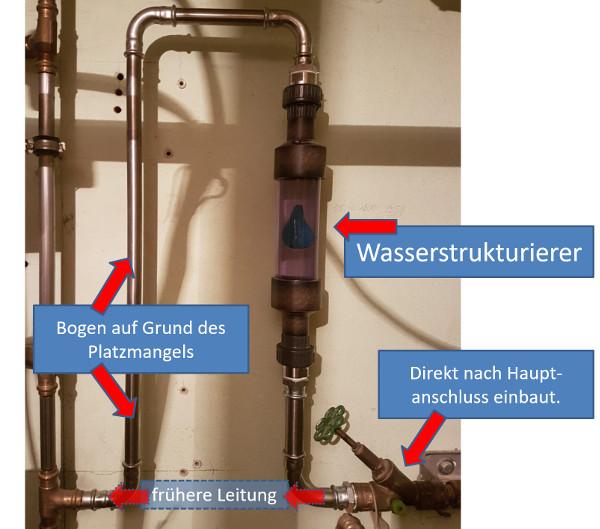 Wasserstrukturierer für den Export