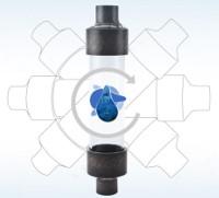 Wasserstrukturierer Montage